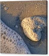 Found Heart Canvas Print