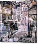 Foundry Workers Canvas Print