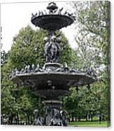 Fountain Boston Common Canvas Print