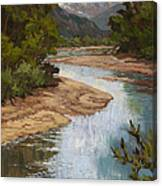 Fountain Creek Canvas Print