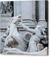 Fountain Di Trevi Canvas Print