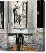 Fountain In A Palace Garden Canvas Print