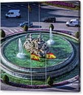 Fountain Of Cebeles II Canvas Print