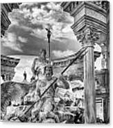 Fountain Of The Gods Canvas Print