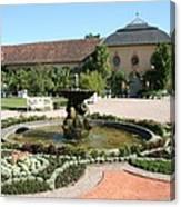 Fountain - Orangery - Belvedere Canvas Print