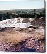 Fountain Paint Pot Yellowstone National Park Canvas Print