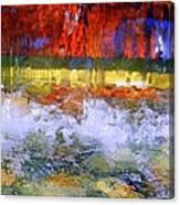 Fountain Splash Canvas Print