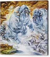Four Buff Canvas Print