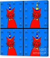 Four Cats Canvas Print