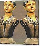 Four Mannequins Two Canvas Print
