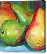 Four Pears Art Blenda Studio Canvas Print