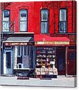 Four Shops On 11th Ave Canvas Print