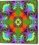 Four Square Spirals Canvas Print