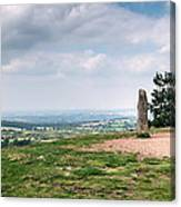 Four Standing Stones On The Clent Hills Canvas Print