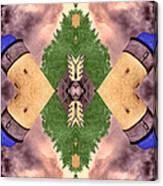 Four Towers Sigil Canvas Print