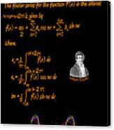 Fourier Series Canvas Print
