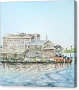 Fournier's Marine Canvas Print