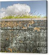 Fourt Moultrie Battery Jasper Wall Canvas Print