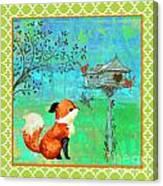Fox-a Canvas Print