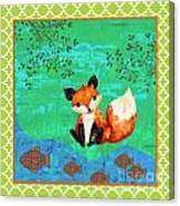 Fox-c Canvas Print