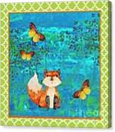 Fox-e Canvas Print