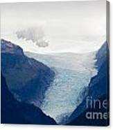 Fox Glacier On South Island Of New Zealand Canvas Print