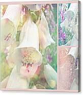 Foxgloves - The Trilogy Canvas Print