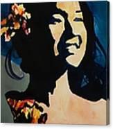 Foxy Lady 002 Canvas Print