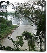 Foz Do Iguacu Canvas Print