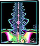 Fractal 21 Jeweled Plume Canvas Print