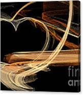 Fractal 24 Es Heart Canvas Print
