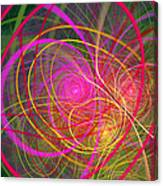 Fractal - Abstract - Loopy Doopy Canvas Print