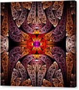 Fractal - Aztec - The Aztecs Canvas Print