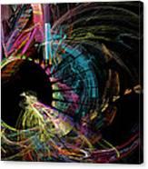 Fractal - Black Hole Canvas Print