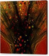 Fractal Bonfire Canvas Print