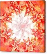 Fractal Carnation Canvas Print