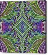 Fractal Cross Canvas Print