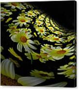 Fractal Daisies Canvas Print