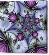 Fractal Fantasy Butterflies Canvas Print