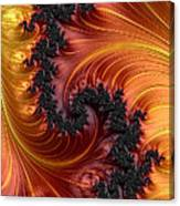 Fractal Heat - A Fractal Abstract Canvas Print