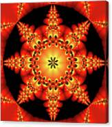 Fractal In The Centre Canvas Print