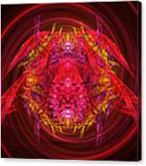 Fractal - Insect - Jeweled Scarab Canvas Print