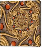 Fractal Jewelry Canvas Print