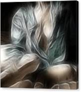 Fractal Nude 8637 Canvas Print