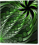 Fractal On The Way Canvas Print