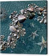 Fractal Sea Life Canvas Print