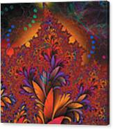 Fractal Space Canvas Print