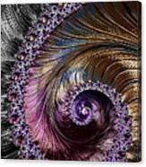 Fractal Spiral 2 - A Fractal Abstract Canvas Print