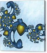 Fractal Tears Of Joy 2 Canvas Print