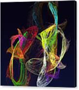 Fractal - Tropical Fish Canvas Print